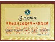 2014年中国生发行业诚信品牌