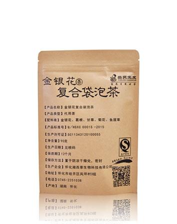 金银花复合袋泡茶1